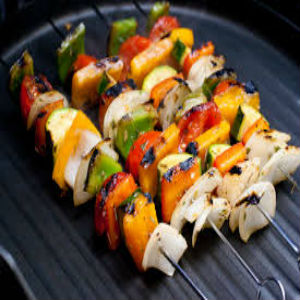 grilled vegetables 3x3