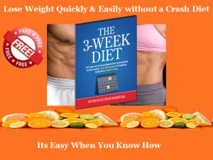 3 Week Diet Approach
