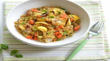 Quinoa and summer vegetable recipe