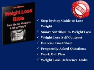 eBook the ultimate weight loss bible