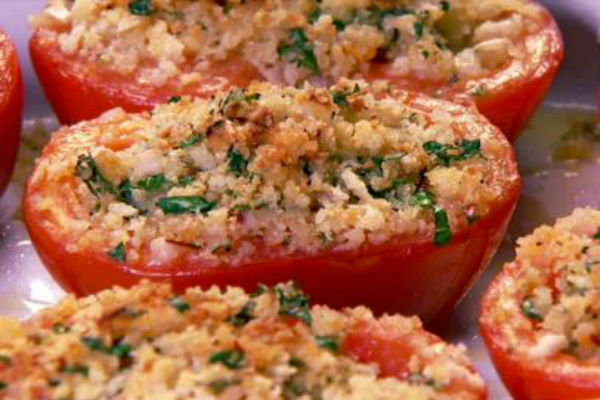 baked tomato parmesan recipe