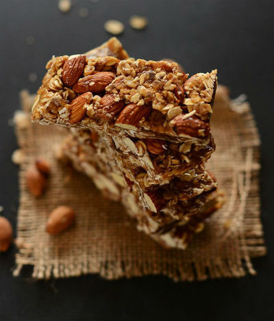 Home made granola bar recipe