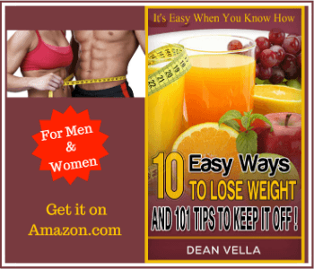 10 Easy Ways to Lose Weight and 101 Tips to keep it off amazon ebook cover