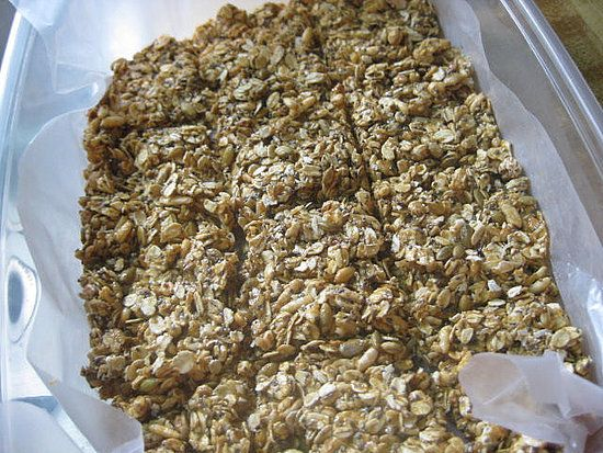 Non cook easy granola bar recipe
