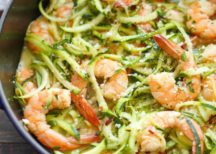Zucchini Shrimp Scampi recipe