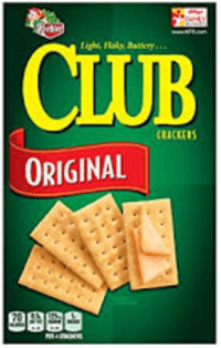 Keebler crackers with ingredient high fructose corn syrup