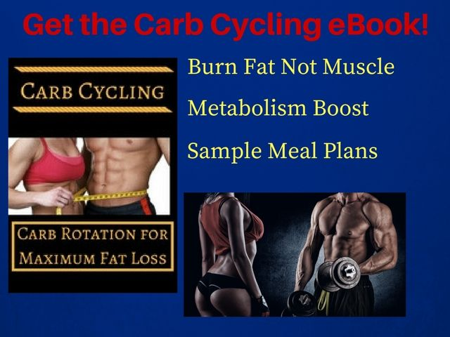 Carb Cycling eBook offer